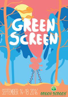 Poster design for Green Screen Film Festival Germany