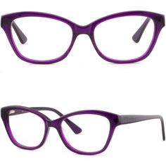 e7cfc1f936 Women s Cat Eye Cateye Acetate Frames Spring Hinges Prescription Glasses  Purple  Unbranded Womens Glasses Frames