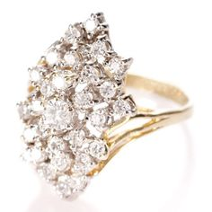 Vintage Diamond Ring. How gorgeous is this?