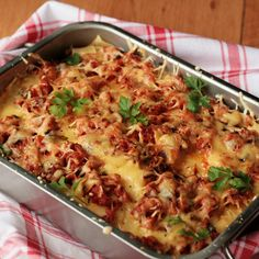 Lasagne z mięsem / Lazania - DoradcaSmaku.pl
