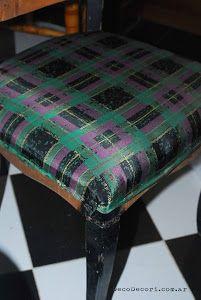 Silla francesa antes y después   Bricolaje Vanity Bench, Inspiration, Furniture, Home Decor, Ideas, Blog, Chair Upholstery, Chairs, Tela