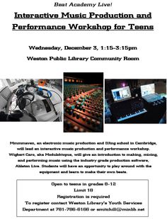 Music Production and Performance Workshop