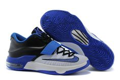 outlet store 09d5d a7567 Buy Nike KD 7 Shoes White Blue Black from Reliable Nike KD 7 Shoes White Blue  Black suppliers.Find Quality Nike KD 7 Shoes White Blue Black and more on  ...