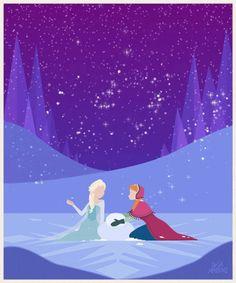 Анимированные рисунки с принцессами Дисней