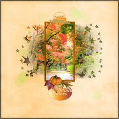 #happyscraparts Made with her new kit: 12 months Autumn Gallery Standout at Just Art& Scrapbooking #digiscrapnl