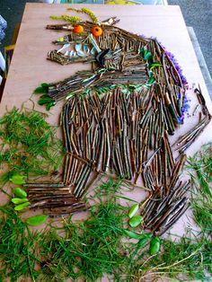 The Gruffalo on Gruffalo Eyfs, Gruffalo Activities, The Gruffalo, Land Art, Forest School Activities, Nature Activities, Eyfs Classroom, Outdoor Classroom, Outdoor Education
