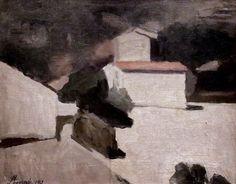 Giorgio Morandi - Landscape - 1941