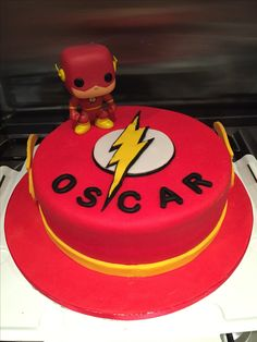 Flash Birthday Cake - ENDavenport