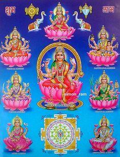 Goddess Lakshmi Yantra poster-reprint on inches) Lakshmi Photos, Lakshmi Images, Diwali Wallpaper, Maa Wallpaper, Hanuman Chalisa, Lord Ganesha Paintings, Krishna Art, Baby Krishna, Ganesha Art
