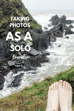 taking photos of yourself as a solo traveler