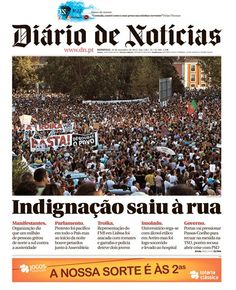 #DN #15SET -  Indignação saiu à rua
