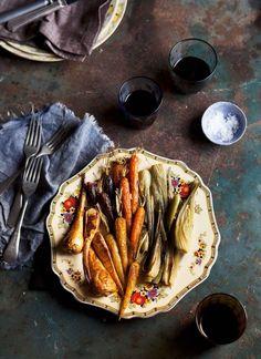 Immer wieder gut und perfekt für unter der Woche! Ofengemüse <3 | http://eatsmarter.de/rezepte/ofengemuese-14