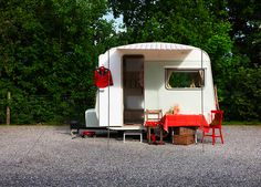 What a cutie! #camper #tiny_trailer #tin_can_tourist