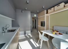 Minimalist design apartment in Kiev Interiordesignshome.com