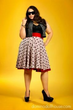 91b76958cf3 Cannot wait until this Domino Dollhouse dress skirt is released in the  upcoming Rebel Rebel Collection.