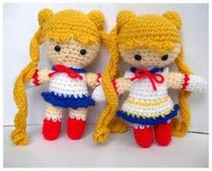 Crochet Sailor Moon Characters - - Yahoo Image Search Results