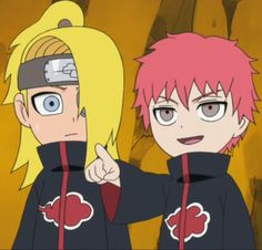 'lmao deidara look at what he's wearing' 'jfc he looks like a pincushion lol' 'I WILL ALMIGHTY DAB AT YOU'