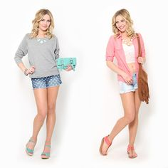 Which #denim shorts #outfit would you wear?