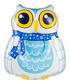 Loving this Howling Owl Snow Tube on #zulily! #zulilyfinds