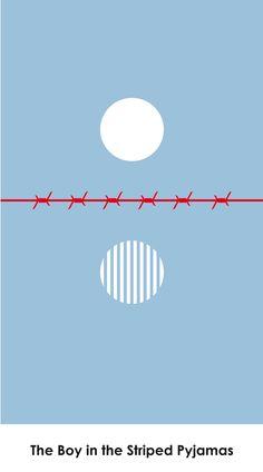 The Boy in the Striped Pyjamas (2008) ~ Minimal Movie Poster by Yannick Buchs