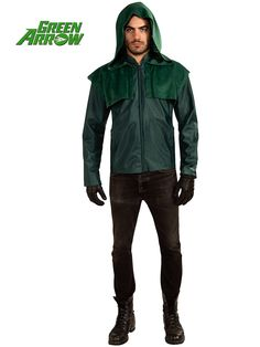 The Deluxe Green Arrow Adult Costume is the best 2019 Halloween costume for you to get! Everyone will love this Mens costume that you picked up from Wholesale Halloween Costumes! Superhero Costumes For Men, Costumes For Teens, Halloween Costumes For Girls, Adult Costumes, Halloween Ideas, Superhero Halloween, Adult Halloween, Superhero Party, Costume Halloween