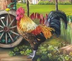 Brooke Faulder - King of the Farmyard