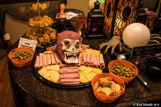 Sinister snacks! Something wicKED this way comes....: wicKED weeKEnD Halloween Party of 2015