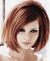 hair cut idea.  Don't think my hair is thick enough for this, but I love it!