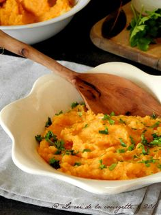 Purée de patate douce à l'ancienne