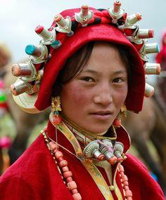 Tibetian Woman | © Daniel Griffin