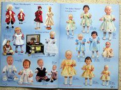 Katalog Schildkröt Puppen 2007 / 2008 Puppenheft Werbeheft Celluloid Puppen