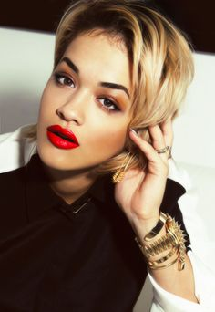 Rita Ora - love her lips!