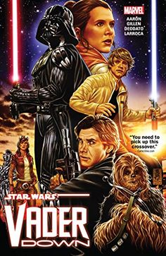 Star Wars: Vader Down (Star Wars: Vader Down (2015)):   Collects Star Wars: Vader Down #1, Star Wars #13-14 & Darth Vader #13-15.br /br /Two of the biggest titles in comics collide in the first crossover of the new Marvel age of STAR WARS! When Darth Vader accidentally finds himself facing off against the rebel fleet on his own, he is sent crashing onto a nearby planet. Will the rebels seize this opportunity to put an end to one of their greatest enemies — or will they be made to feel ...