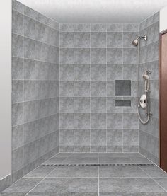 What are some different types of disabled walk-in showers?