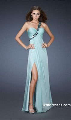 http://www.ikmdresses.com/2014-Terrific-One-Shoulder-Silver-Rhinestone-Beaded-Straps-With-Twist-Detail-On-Bodice-Chiffon-p84976