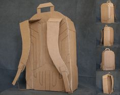 Image result for cardboard backpack