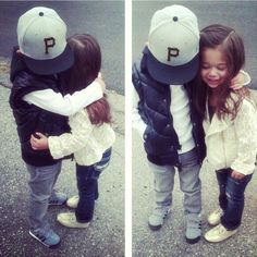 I have a feeling my niece and nephew are gonna be like this <3