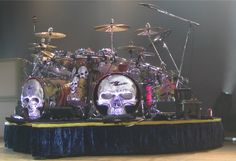 Frank Beard's(ZZ Top) drum kit