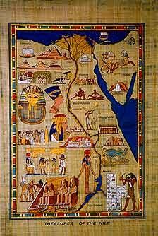 Map of Ancient Egypt,   1877