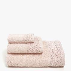 Immagine 1 del prodotto Asciugamano cotone merletto