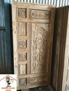 Main Entrance Door, Main Door, Entrance Gates, Entry Doors, Modern Wooden Doors, Wooden Door Design, Wooden Gates, House Doors, Carving Designs