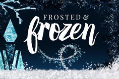 Check out Frosted+Frozen Icy Winter Kit: Ps+Ai by Jessica Johnson on Creative Market