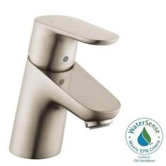 hansgrohe 31080001 metris 110 single-hole faucet, chrome hansgrohe