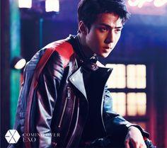 Sehun - 161027 'Coming Over' teaser image Credit: Official EXO Japan website.