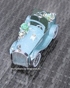 My Craft and Garden Tales: The vintage car