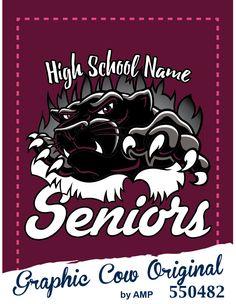 panther seniors high school  #grafcow