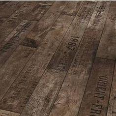 Wine box flooring!