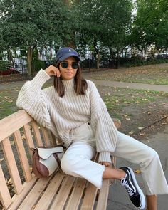 Bild Outfits, Mode Outfits, Trendy Outfits, Fashion Outfits, Womens Fashion, Fashion Tips, Street Style Outfits, Looks Street Style, Looks Style