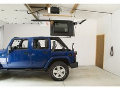 Jeep Top - (mount hoist on rear wall to maximize hoisting height)  www.quadratec.com