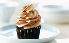 Chocolate Spice Cupcakes with Swirl Frosting